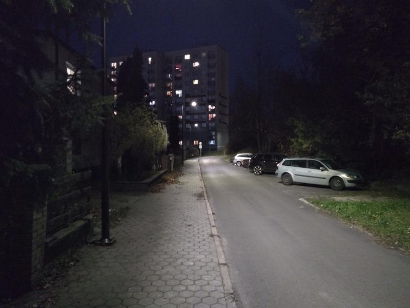 Oświetlenie Led Na Kolejnych Ulicach Ruda śląska